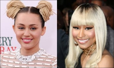 Miley Cyrus Isn't Fazed After Nicki Minaj Shades Her at BBMAs