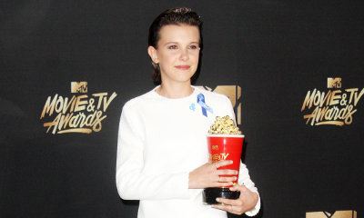 MTV Movie and TV Awards 2017: Millie Bobby Brown Can't Stop Crying in Emotional Speech