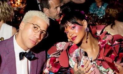Rihanna Spotted Cozying Up to Olympic Fencer Miles Chamley-Watson at Met Gala After-Party