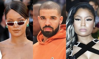 Rihanna Unfazed by Drake and Nicki Minaj's Relationship