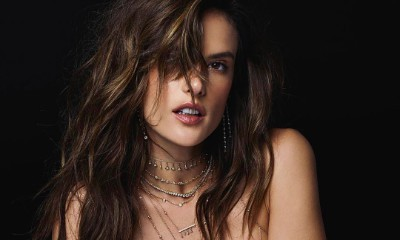 Alessandra Ambrosio Goes Half Naked in Sizzling Jewelry Ad