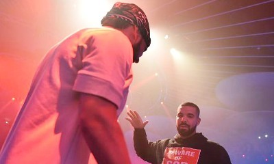 French Montana Brings Out Drake at His Toronto Show