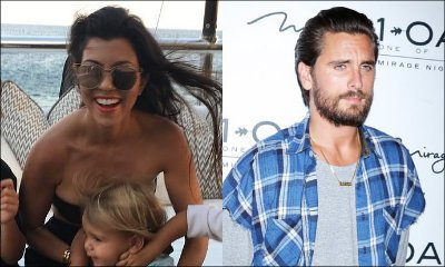 Kourtney and Reign Relax in Miami While Scott Disick Makes Out With Two Women at Once in Las Vegas