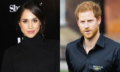 Getting Serious? Meghan Markle Wears Gold Diamond Ring From Prince Harry