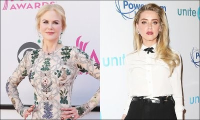 Nicole Kidman Reportedly Feuding With Amber Heard
