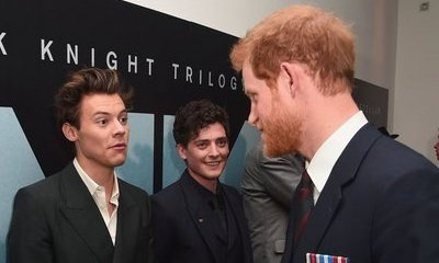 Harry Styles Meets Prince Harry During 'Dunkirk' Premiere in London