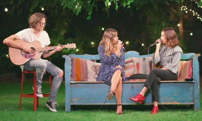 Lea Michele and Ashley Tisdale Team Up for Breathtaking Cover of 'Dancing on My Own'