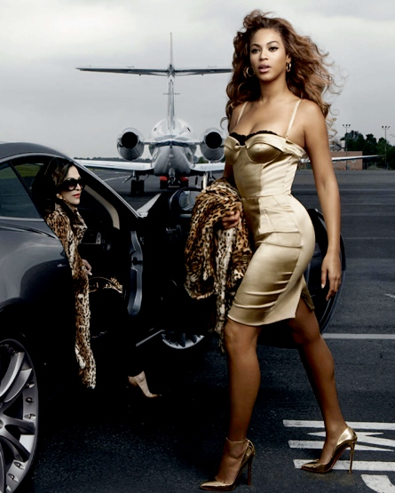 Beyonce Knowles First Photo for American Express Ad