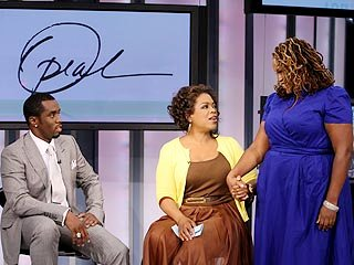 P. Diddy Made His Choice of a New Personal Assistant During Oprah Winfrey's YouTube-Themed Show