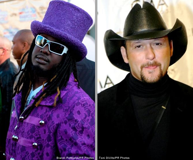 T-Pain to Go Country With Tim McGraw