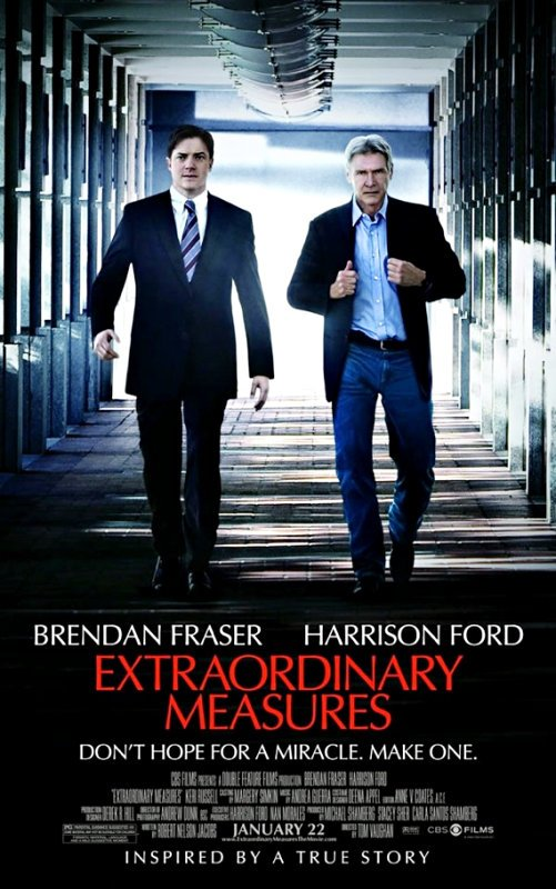 Trailer for Harrison Ford's 'Extraordinary Measures' Arrives