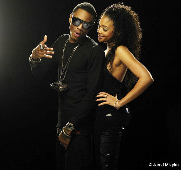 Pictures of Soulja Boy's 'All Black Everything' Music Video