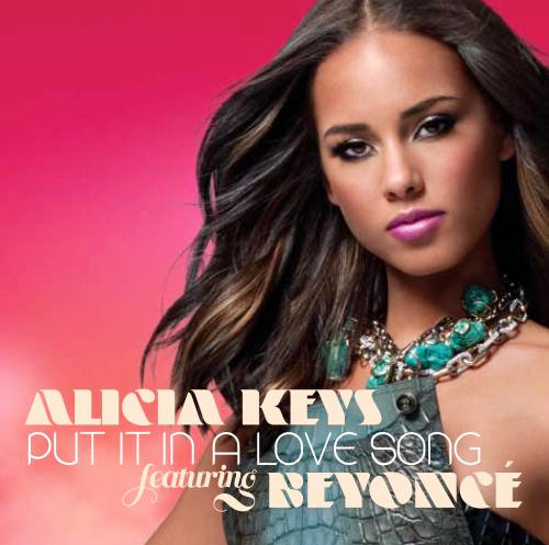 Cover Art for Alicia Keys' 'Put It in a Love Song'