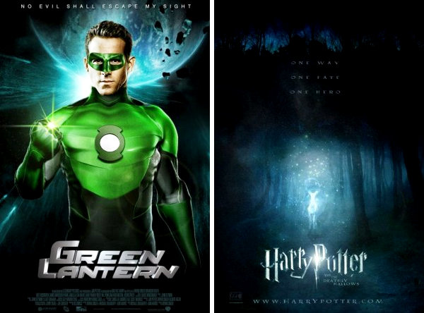 'Green Lantern' and 'Deathly Hallows: Part II' to Be Released in 3-D