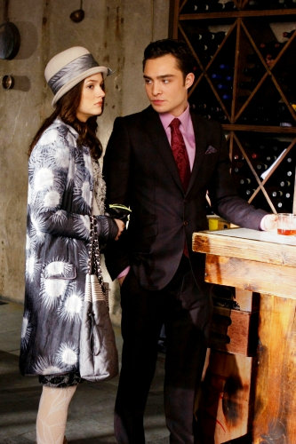 New 'Gossip Girl' Clips: Trouble for Jenny and Chuck