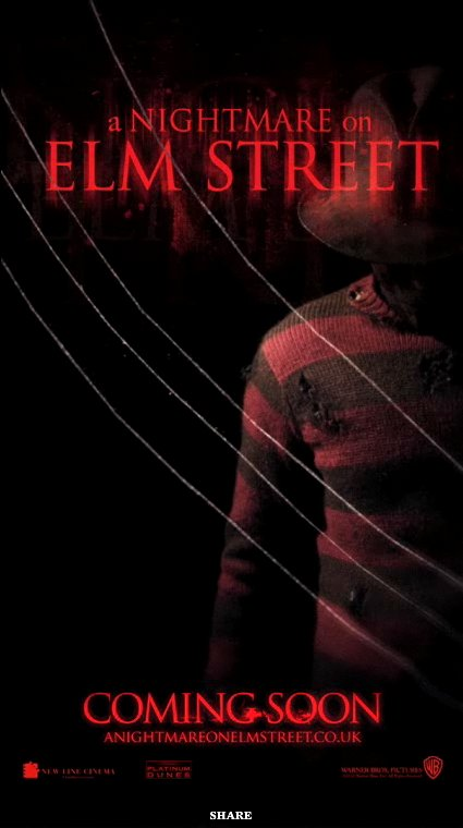 'A Nightmare on Elm Street' Has Creepy Motion Poster and New Clip