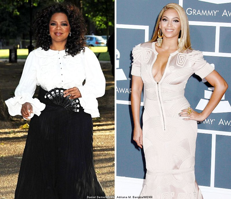 Oprah Winfrey and Beyonce Knowles Top Forbes' Most Powerful Celebrities List