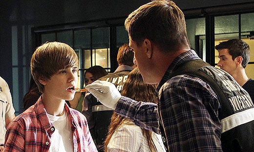'CSI' First Look: Justin Bieber in Character