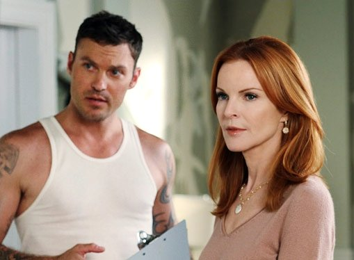 Brian Austin Green Appears in 'Desperate Housewives' Featurette