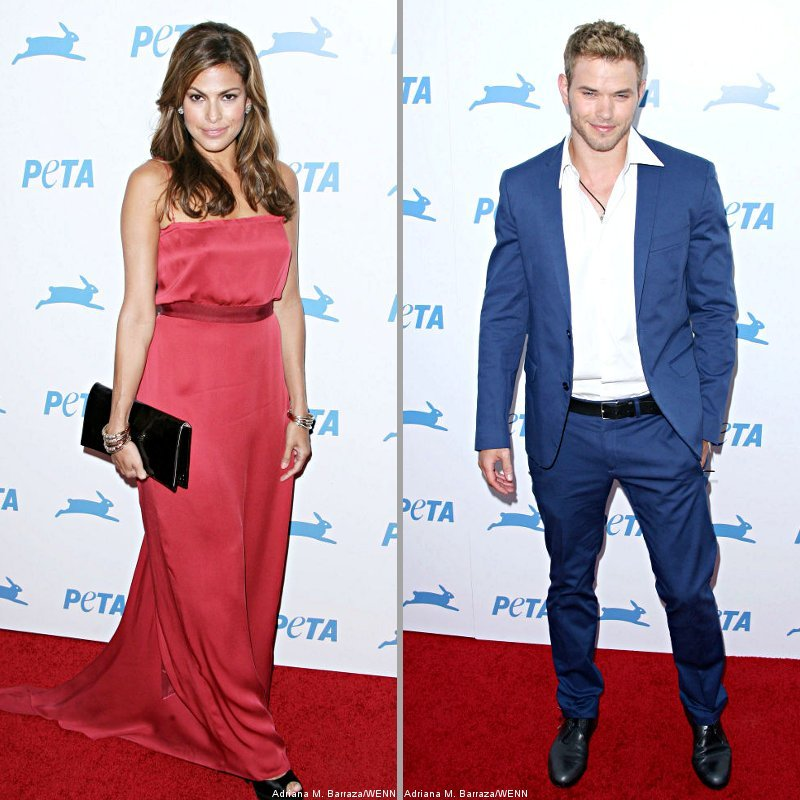 Eva Mendes, Kellan Lutz and More Hit PETA's Awards, List of Honorees Revealed