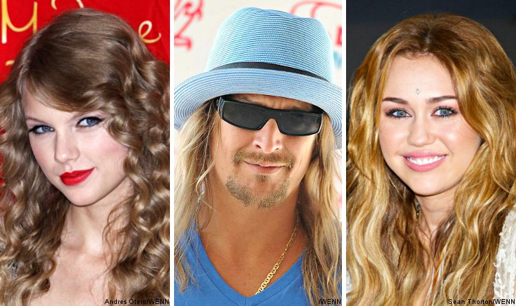 Taylor Swift, Kid Rock and Miley Cyrus Added to 2010 AMAs Line-Up