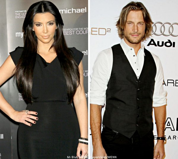 Kim Kardashian and Gabriel Aubry Photographed Having Date on Thanksgiving