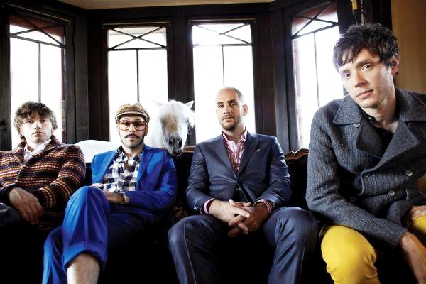 OK Go Lead Parade in 'Back From Kathmandu' Video