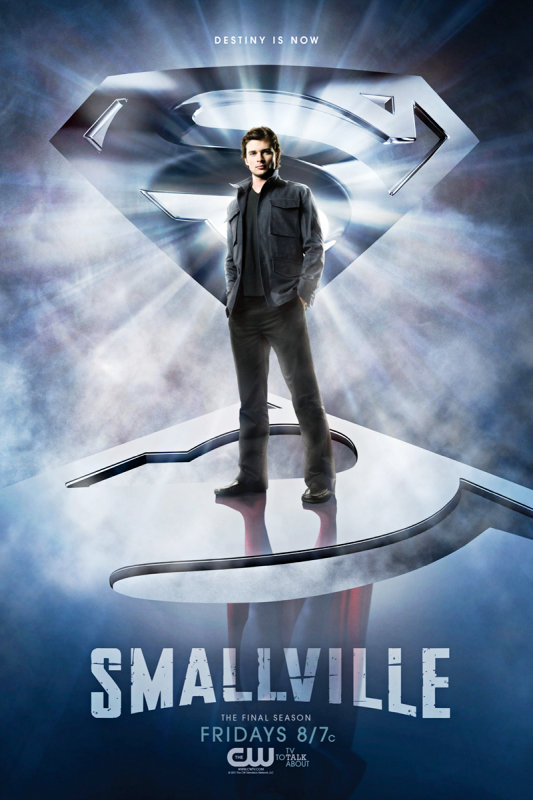 New 'Smallville' Poster Teases Superman Costume