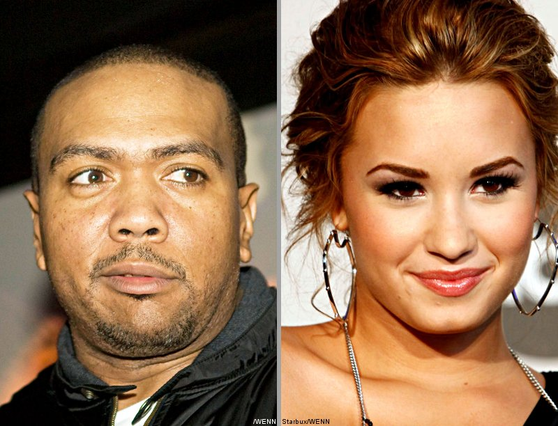 Video: Timbaland Previews Song He Wrote for Demi Lovato