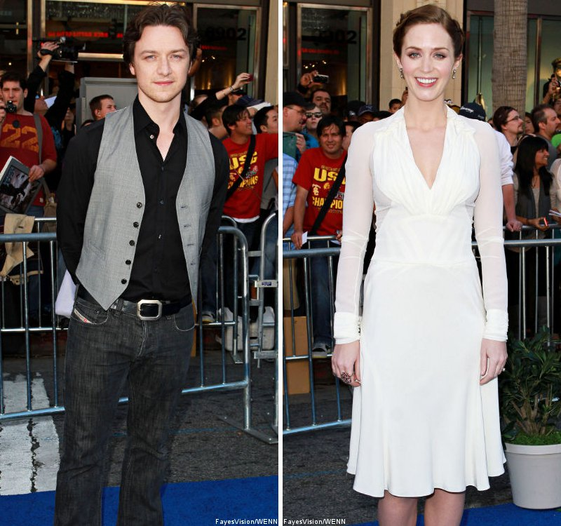James McAvoy and Emily Blunt Premiere 'Gnomeo and Juliet' in Los Angeles