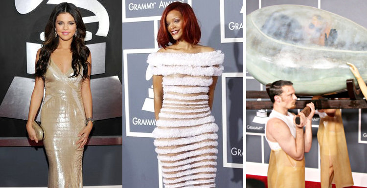 2011 Grammys: Selena Gomez, Rihanna, Lady GaGa and More on Red Carpet