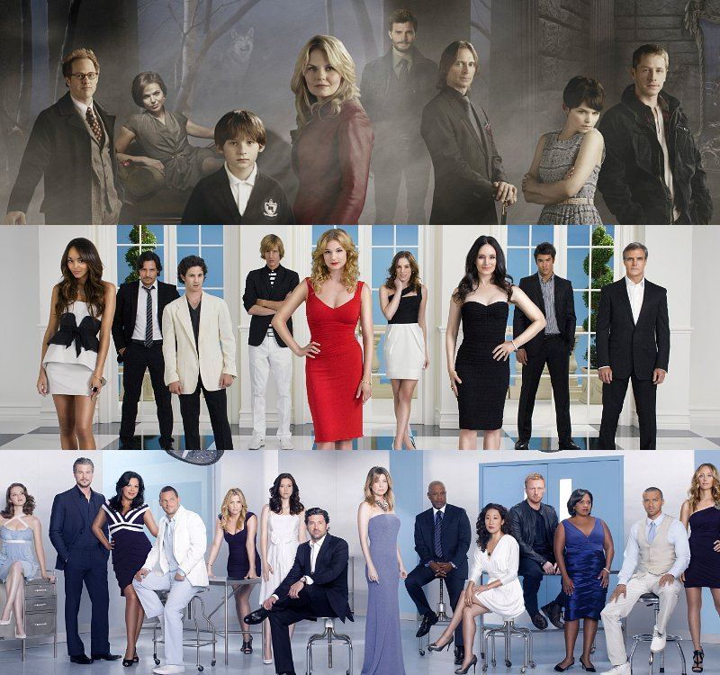 ABC Renews 'Once Upon a Time', 'Revenge', 'Grey's Anatomy' and Seven More
