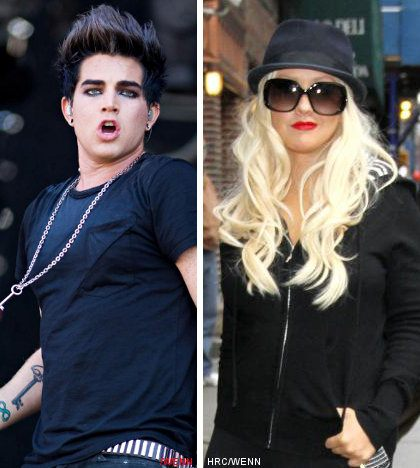 Report: Adam Lambert and Christina Aguilera Record a Duet