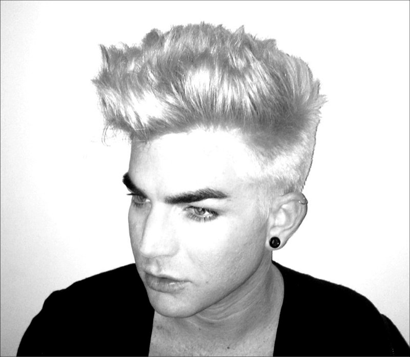 Adam Lambert Dyes His Hair, Shows Off New Look