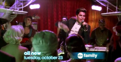 Adam Lambert Featured in 'Pretty Little Liars' Halloween Special Preview