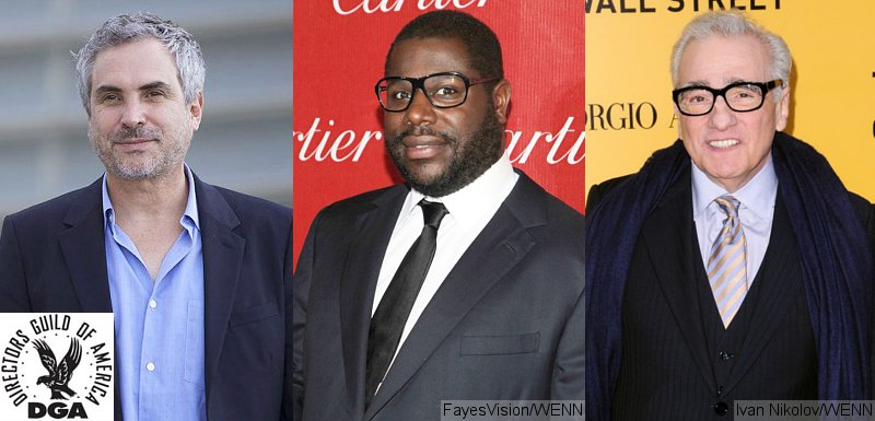 Alfonso Cuaron, Steve McQueen and Martin Scorsese Nominated for Directors Guild Award