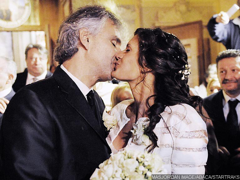 Andrea Bocelli Married Longtime Girlfriend in Intimate Ceremony