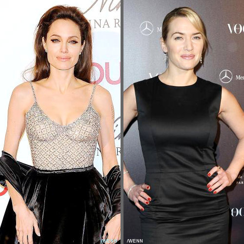 Angelina Jolie Replaced by Kate Winslet for Luxury Brand
