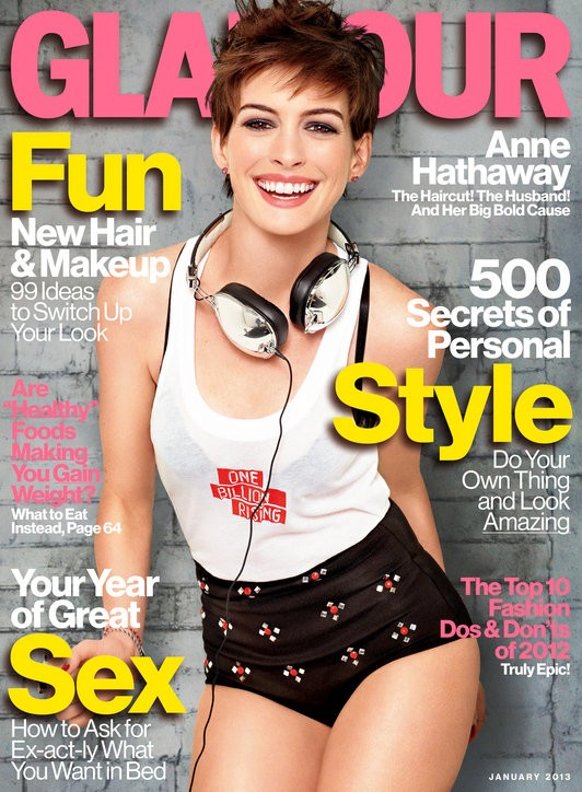 Anne Hathaway Opens Up About Her Struggle With Body Image Issue