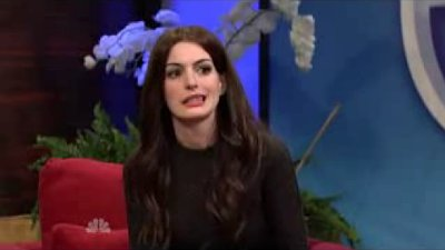 Video: Anne Hathaway Spoofs 'Homeland' and Katie Holmes on 'SNL'