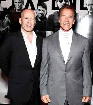 Arnold Schwarzenegger, Bruce Willis Sign Up for 'Substantial' Roles in 'Expendables 2'