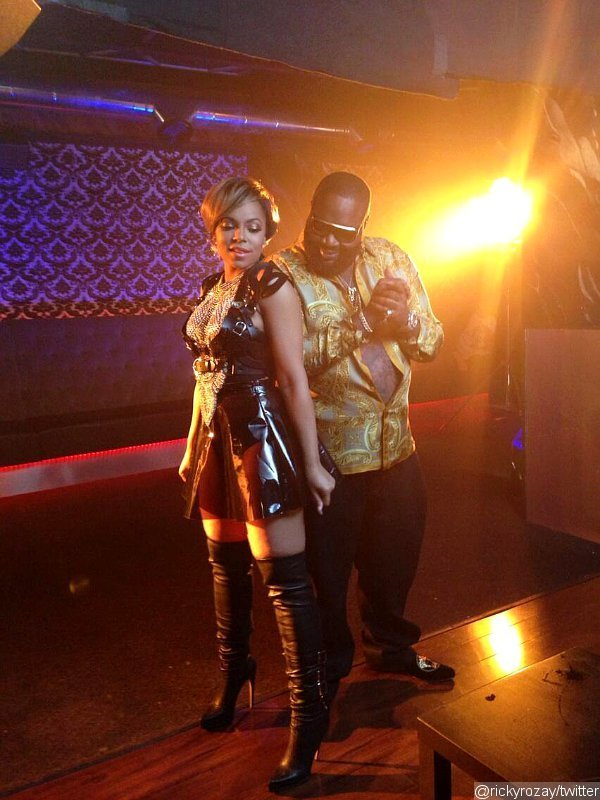 Photo: Ashanti Films 'I Got It' Music Video With Rick Ross in Miami