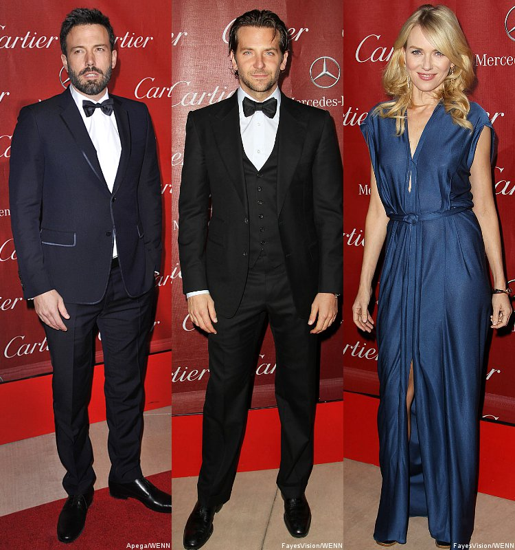 Ben Affleck, Bradley Cooper and Naomi Watts Among 2013 Palm Springs Fest Honorees
