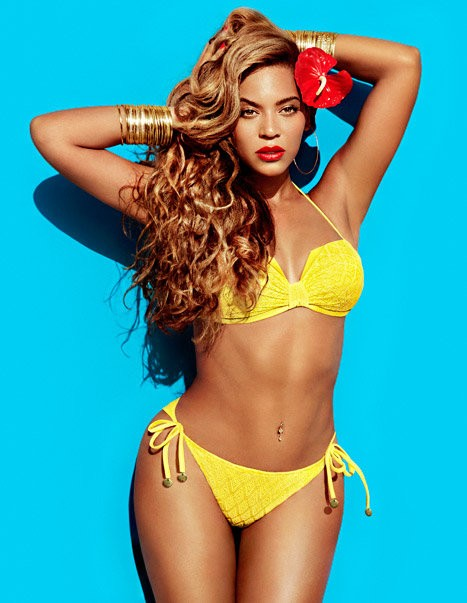 Beyonce Knowles Flaunts Bikini Bod in New H and M Ads