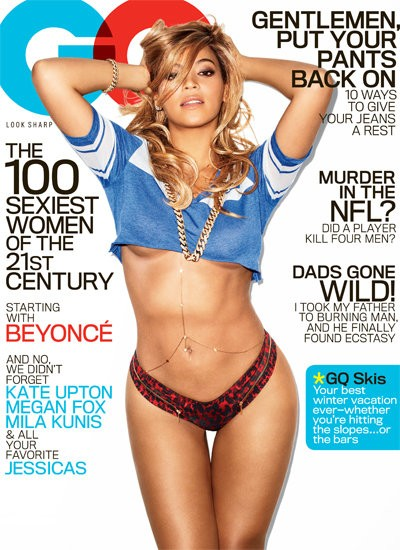 Beyonce Strips Off to Reveal Fabulous Post-Baby Body in Official Cover of GQ
