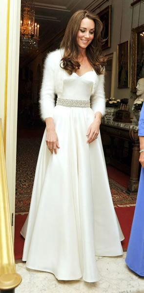 Kate Middleton Changes Into Gorgeous Second Dress for Reception