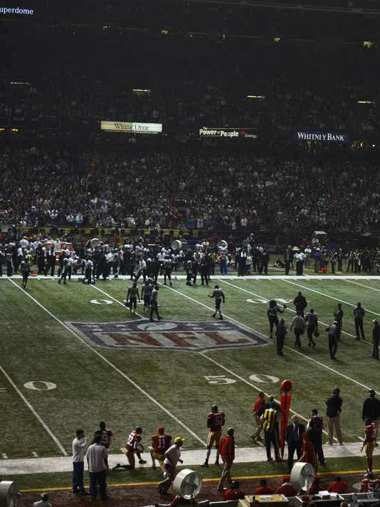 CBS' Super Bowl Broadcast Went Silent for 30 Minutes During Power Outage