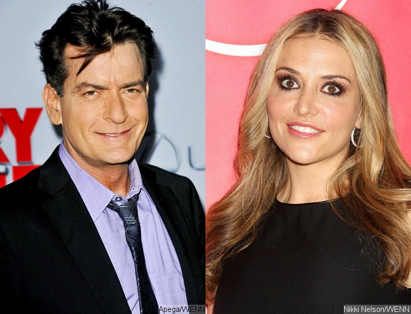 Charlie Sheen Sends Brooke Mueller a Photo of Cake With Grenade on Twitter