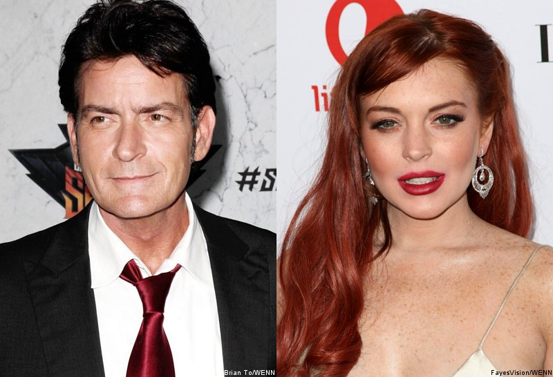 Charlie Sheen Still Waiting Lindsay Lohan to Say Thank You for His $100K Giveaway
