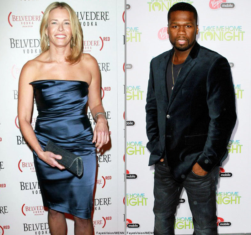 Chelsea Handler Admits Having Dated 50 Cent